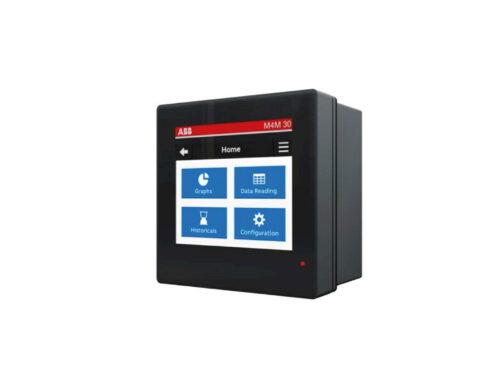ABB presenta su nuevo analizador de redes para cuadro M4M